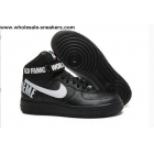 wholesale Nike Air Force 1 High Supreme SP Black White Mens Shoes