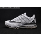 wholesale Nike Air Max 2016 White Black Size US7 - US13 Mens Shoes