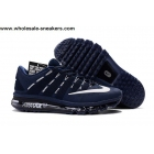 wholesale Nike Air Max 2016 Rubber Patch Size US7 - US13 Navy Shoes