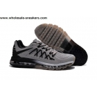 wholesale Nike Air Max 2015 Grey Black Size US7 - US13