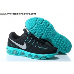 Nike Air Max Tailwind 8 Black Blue Running Shoes