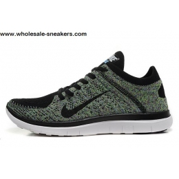 Womens Nike Free 4.0 Flyknit Multi Color Running Shoes