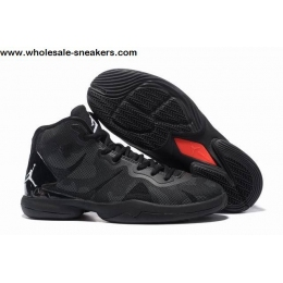 Jordan Super Fly 4 All Black Mens Basketball Shoes