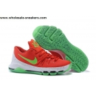 Nike KD 8 Red Green Mens Basketball Shoes