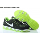wholesale Nike Air Max Tailwind 8 Black Volt White Running Shoes
