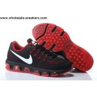 wholesale Nike Air Max Tailwind 8 Black Red White Running Shoes