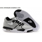 wholesale Nike Air Flight 89 Wolf Grey Black Mens Basketball Shoes