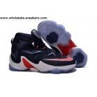 Nike LeBron 13 Navy Blue White Red Mens Basketball Shoes