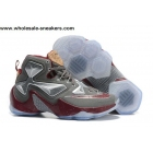 Nike LeBron 13 Opening Night Grey Brown Mens