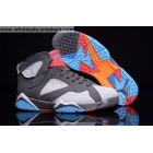 Air Jordan 7 GS BARCELONA DAYS Womens Basketball Shoes