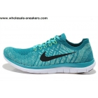 Nike Free 4.0 V2 Flyknit Sky Blue Mens Running Shoes