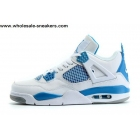 Air Jordan 4 Retro 89 Military Blue White