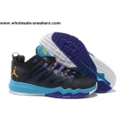 Jordan CP3 IX Black Blue Mens Basketball Shoes