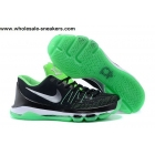 wholesale Nike KD 8 Black Green Mens Basketball Shoes