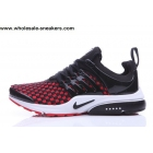 Nike Air Presto Inneva Woven Black Red White Mens Shoes