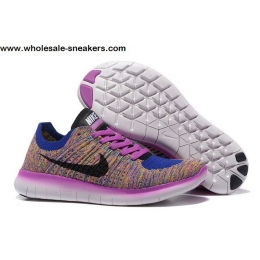 Womens Nike Free Flyknit 5.0 Multi Color Trainer