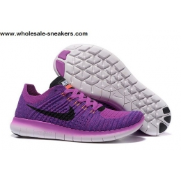 Womens Nike Free Flyknit 5.0 Purple Trainer