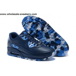 Nike Air Max 90 QS London City Dark Blue Mens Shoes