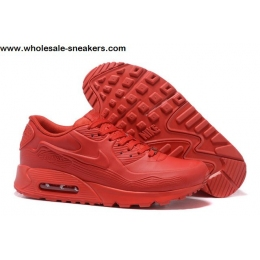 Nike Air Max 90 QS Tokyo City All Red Mens Shoes