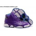 Air Jordan 13 GS HORNETS Purple Womens Basketball Shoes