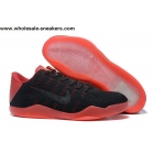 wholesale Nike Kobe 11 Flyknit Black Red Mens Basketball Shoes