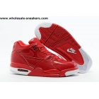 wholesale Nike Air Flight 89 Red White Mens Shoes