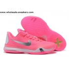 wholesale Nike Kobe 10 Think Pink Mens Basketball Shoes