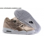 wholesale Nike Air Flight 89 Gold White Mens Shoes