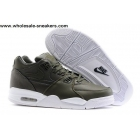 wholesale Nike Air Flight 89 Army Green White Mens Shoes