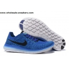 Nike Free Flyknit 5.0 Blue Mens Running Shoes