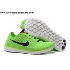 Nike Free Flyknit 5.0 Green Mens Running Shoes