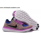 wholesale Womens Nike Free Flyknit 5.0 Multi Color Trainer