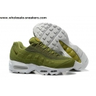 Stussy Nike Air Max 95 Army Green Mens Shoes