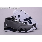 wholesale Air Jordan 14 Low Light Graphite Grey Mens Shoes