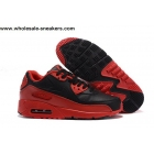 Nike Air Max 90 Red Black Mens Running Shoes
