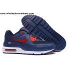 wholesale Nike Air Max Wright LTD Dark Blue Red Mens Shoes