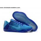 Nike Kobe 11 Flyknit Blue Mens Basketball Shoes