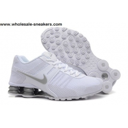 Nike Shox Current White Grey Mens Shoes