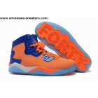 wholesale Air Jordan Spizike 40 PE Orange White Mens Shoes