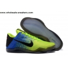 Nike Kobe 11 Volt Blue Mens Basketball Shoes