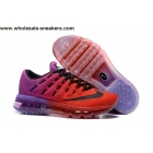wholesale Womens Nike Air Max 2016 Red Purple Shoes