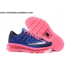 wholesale Womens Nike Air Max 2016 Blue Pink Shoes