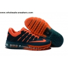wholesale Nike Air Max 2016 Teal Orange Size US7 US13 Mens Shoes