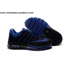 wholesale Nike Air Max 2016 Black Blue Size US7 US13 Mens Shoes