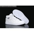 wholesale Air Jordan 1 Retro All White Mens & Womens Shoes