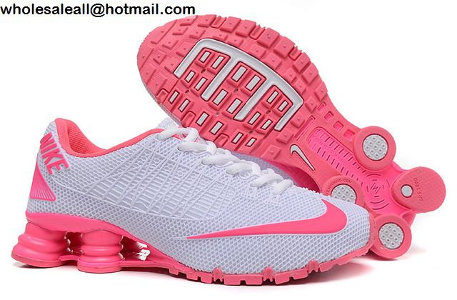 new concept 6f2d8 159a7 Womens Nike Shox Turbo 21 White Pink Running Shoes -12441 ...