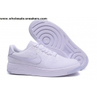 Nike Air Force 1 Low Flyknit Mens & Womens All White Shoes