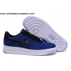 Nike Air Force 1 Low Flyknit Mens & Womens Blue Shoes