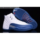 wholesale Air Jordan 12 French Blue Mens Basketball Shoes