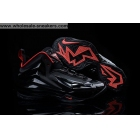 wholesale Nike Chuck Posite Black Red Charles Barkley Shoes